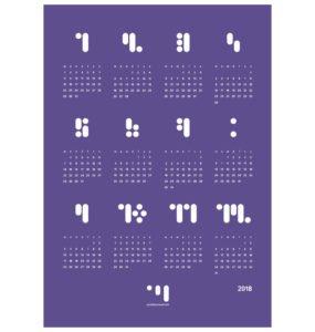 Kalender_block_2018_ultra_violet