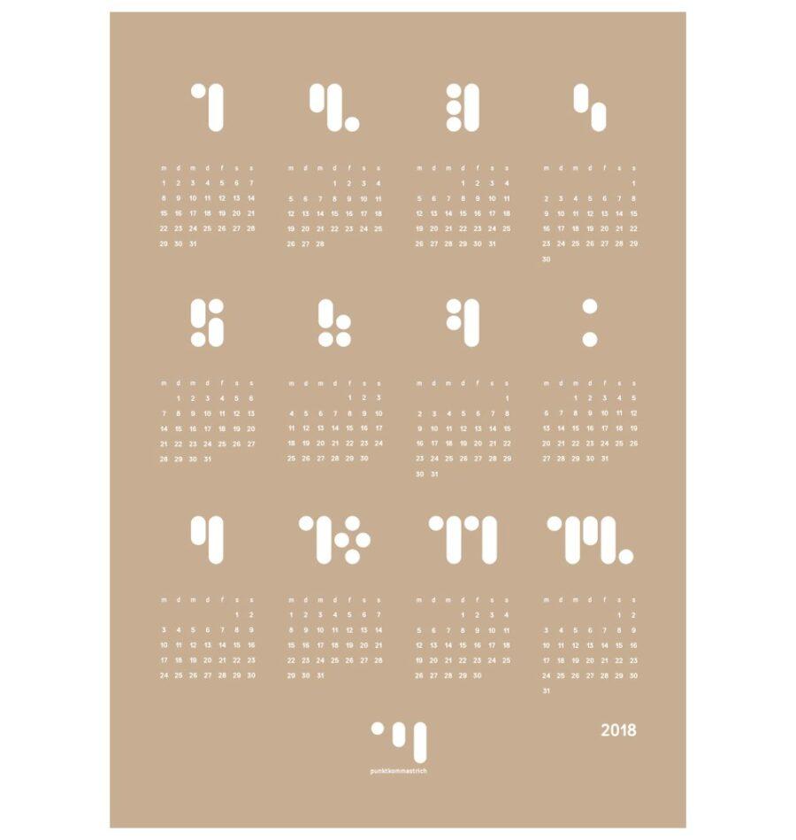 Kalender_block_2018_warm_sand